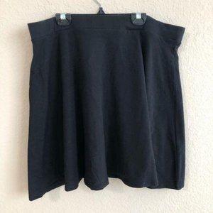 Forever 21 Skirt Short Black Mini Plus Size NWT